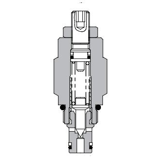 Eaton Vickers 1DR2 Screw-in Cartridge Relief Valve