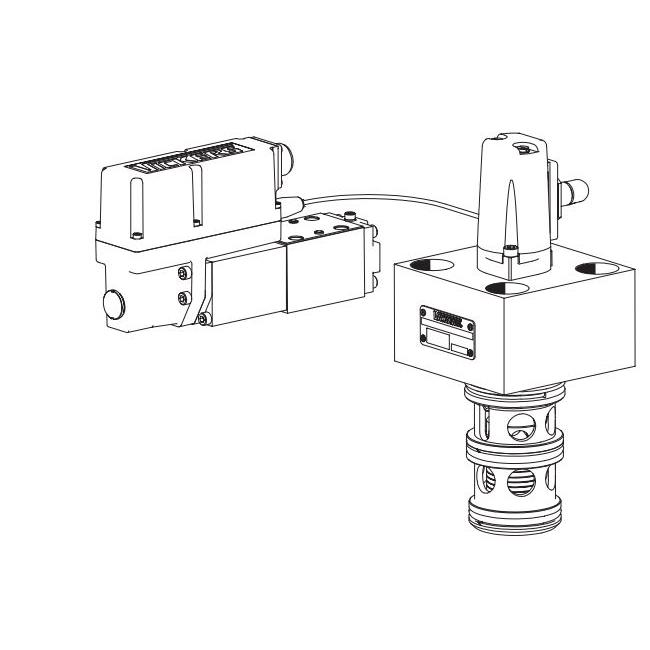 Eaton Vickers CVU-EPQ 3-way Cartridge Valve